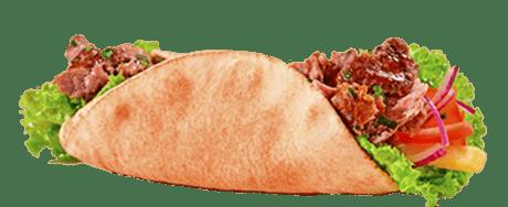 Tradicional Kebab de Carne