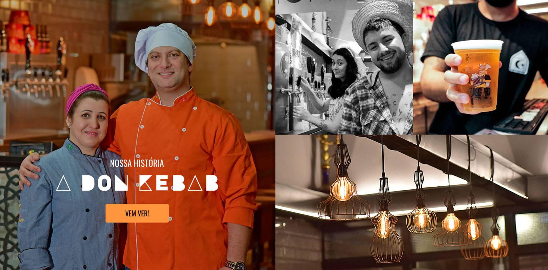 Don Kebab - O Shwarma mais clássico de Curitiba
